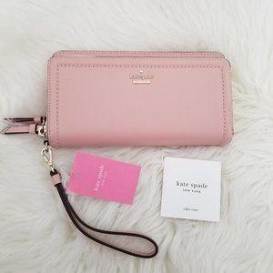 NWT Kate Spade Anita Leather Zip Around Wallet
